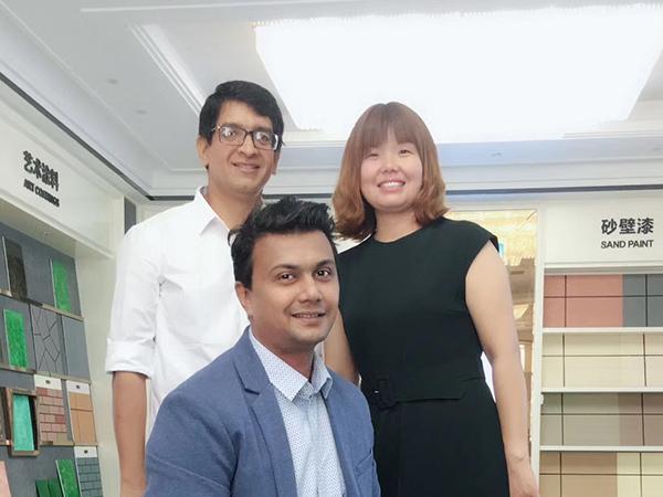 泰国非洲客户来访