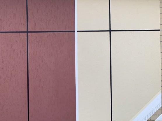 外墙旧瓷砖翻新做真石漆,效果即牢固又漂亮
